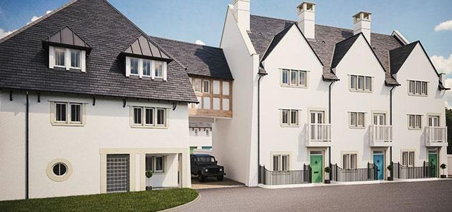 Thumbnail Flat for sale in St John Way, Poundbury