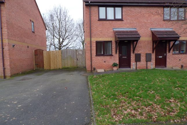 Thumbnail Semi-detached house to rent in Dalesgate Close, Littleover, Derby