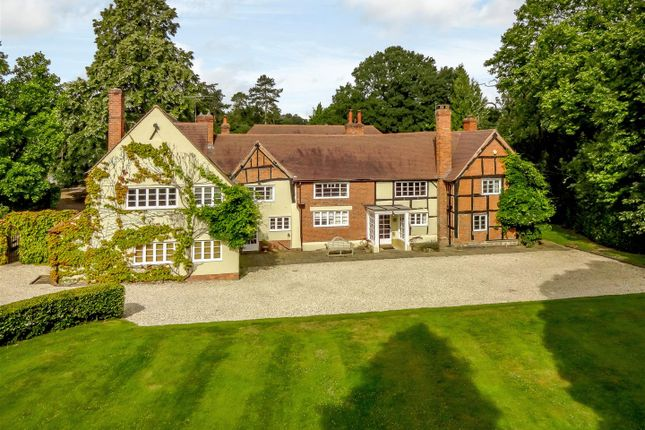Thumbnail Detached house for sale in Old Warwick Road, Lapworth, Warwickshire