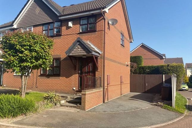 Thumbnail Semi-detached house to rent in Bidston Close, Bury