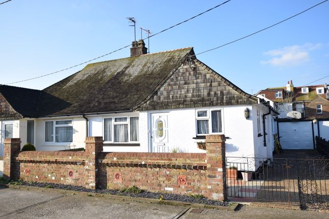Thumbnail Semi-detached bungalow for sale in Eastbourne Avenue, Pevensey Bay