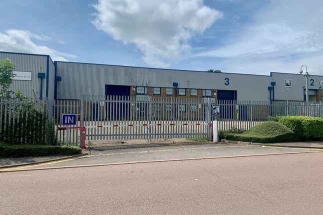 Thumbnail Industrial to let in Unit 3, Motorway Industrial Estate, Babbage Road, Stevenage