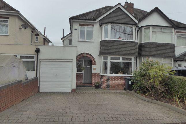Thumbnail Semi-detached house for sale in Chelston Road, Northfield, Birmingham