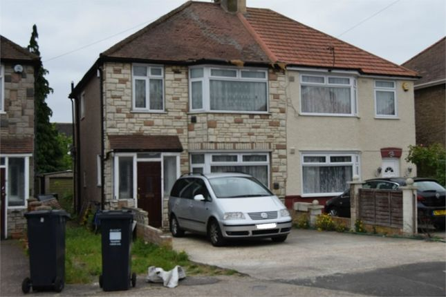 Thumbnail Semi-detached house for sale in Ferndale Avenue, Hounslow, Greater London