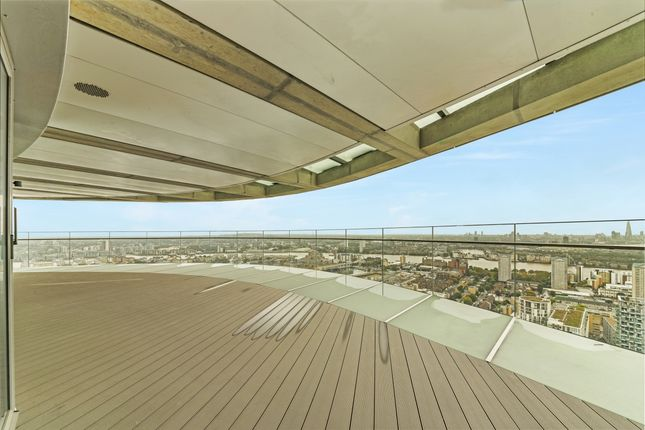 Balcony of Arena Tower, Crossharbour Plaza, Isle Of Dogs E14
