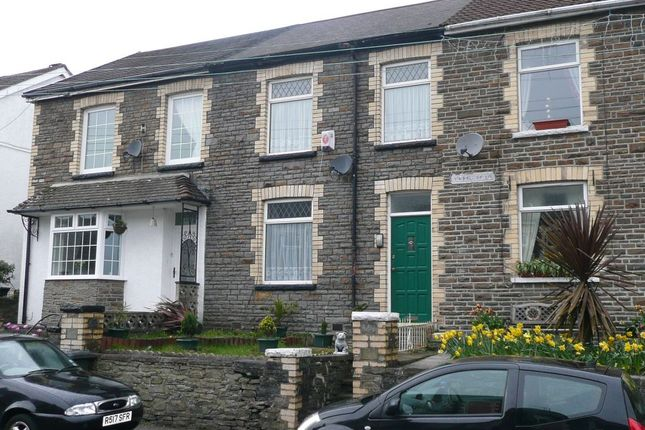 Thumbnail Terraced house to rent in Neath Road, Abergarwed