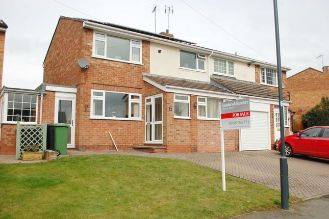Thumbnail Semi-detached house for sale in Riddell Close, Alcester
