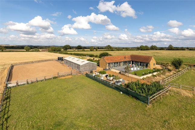 Thumbnail Equestrian property for sale in Northend, Southam, Warwickshire