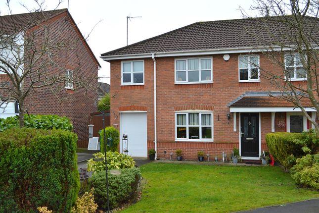 Thumbnail Semi-detached house for sale in Alasdair Close, Chadderton