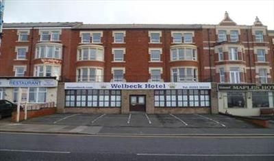 Thumbnail Hotel/guest house for sale in Welbeck Hotel, 10-12 Queens Promenade, Blackpool