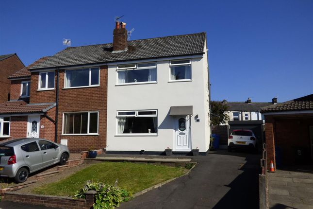 Thumbnail Semi-detached house for sale in Greenside Drive, Greenmount, Bury