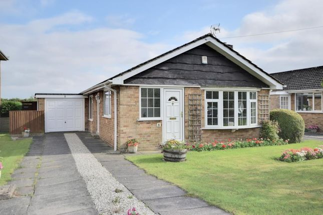 Thumbnail Detached bungalow for sale in Southfield Close, Rufforth, York