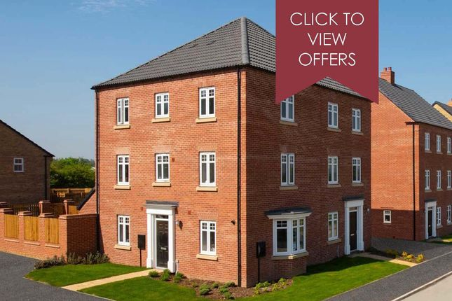 """Thumbnail Semi-detached house for sale in """"Drayton"""" at Mount Street, Barrowby Road, Grantham"""