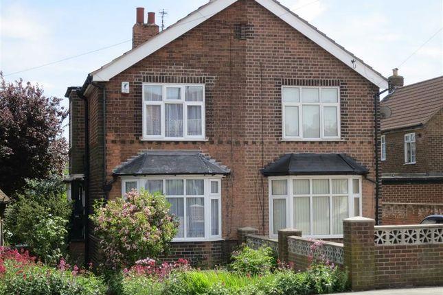 Semi-detached house for sale in Plains Road, Mapperley, Nottingham