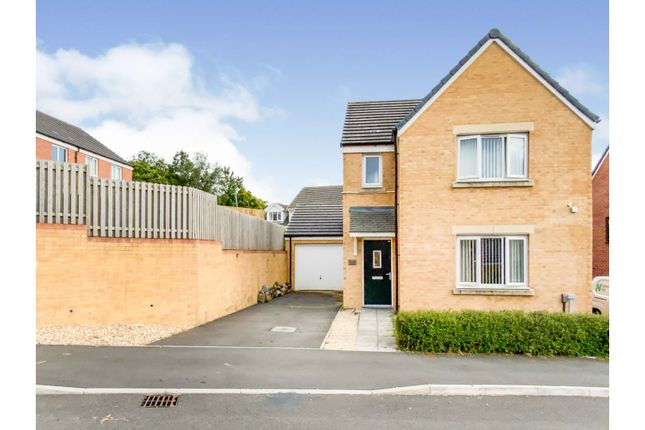 Thumbnail Detached house for sale in Emily Fields, Swansea