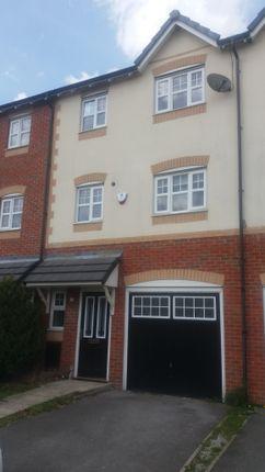 Thumbnail Town house to rent in Greenoak Close, Wigan