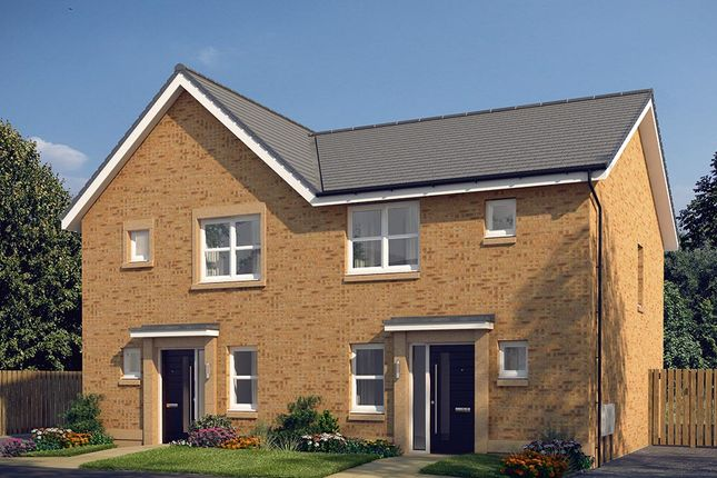 "Thumbnail Semi-detached house for sale in ""The Hamilton"" at Cochrina Place, Rosewell"