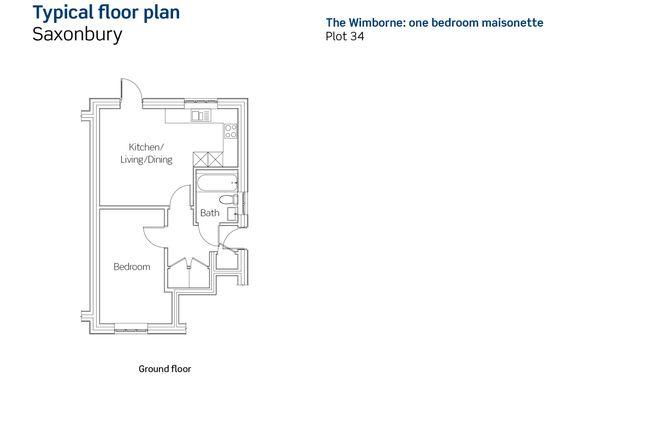 1 bedroom flat for sale in Constance Road, Wimborne
