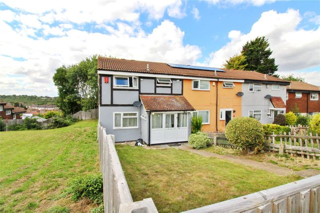 Thumbnail End terrace house to rent in Heathfield Close, Chatham, Kent