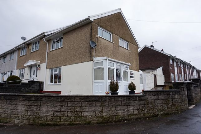 Thumbnail Semi-detached house for sale in Hawthorne Avenue, Merthyr Tydfil