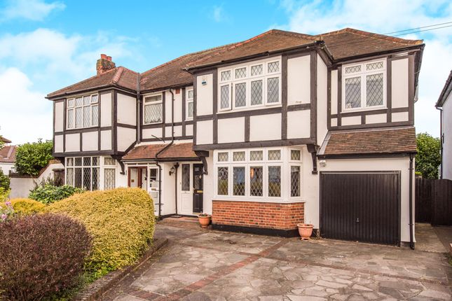 Thumbnail Semi-detached house for sale in Mashiters Walk, Romford