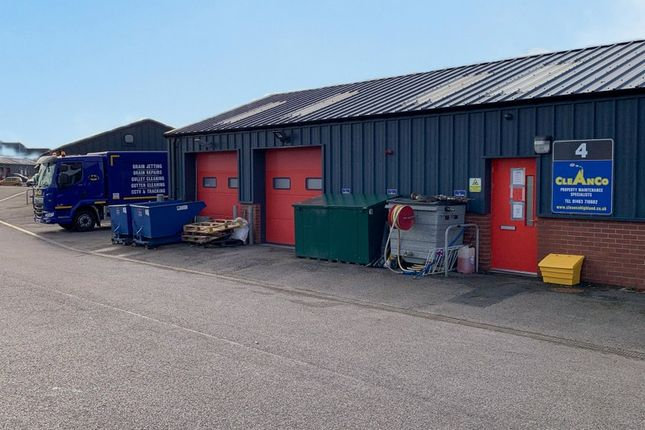 Thumbnail Light industrial for sale in Cleanco (Highland) Ltd, Unit 4, 20 Carsegate Road North, Inverness