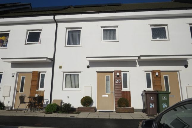 Thumbnail Terraced house for sale in Plymview Close, Efford, Plymouth