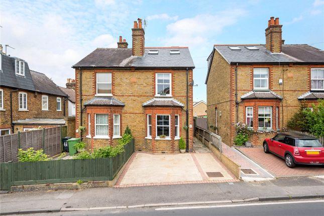 Thumbnail Semi-detached house for sale in Burgh Heath Road, Epsom, Surrey