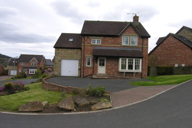 Thumbnail Detached house to rent in Lordenshaw Drive, Rothbury, Morpeth, Northumberland