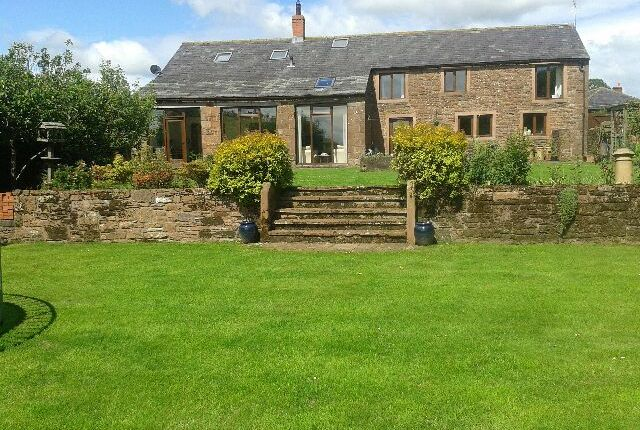 Thumbnail Barn conversion for sale in Laversdale, Carlisle
