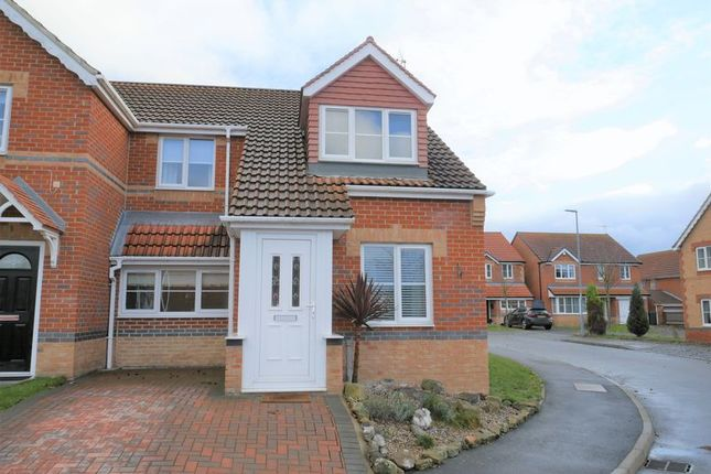 Thumbnail Semi-detached house for sale in Elliott Way, St. Helen Auckland, Bishop Auckland