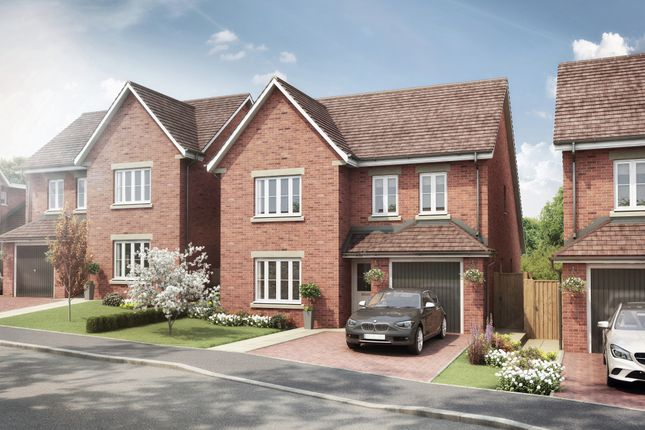 Thumbnail Detached house for sale in Heatherfields Way, Whitehill, Hampshire
