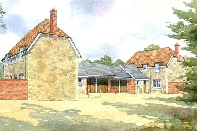 Thumbnail Link-detached house for sale in Station Road, Stalbridge, Sturminster Newton, Dorset