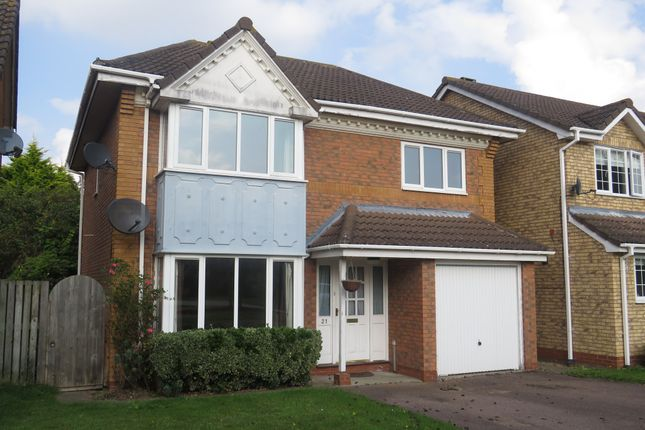 Thumbnail Detached house for sale in Oxford Close, Mildenhall, Bury St. Edmunds