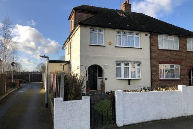 Thumbnail Semi-detached house for sale in Plumpton Avenue, Hornchurch