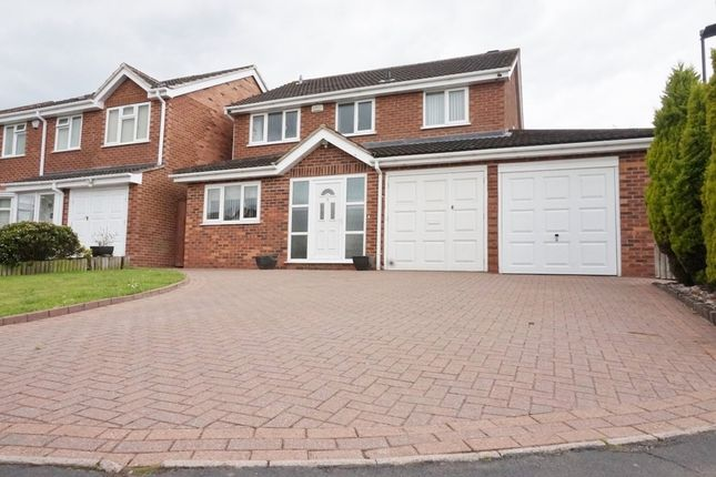 Thumbnail Detached house for sale in Dovey Drive, Walmley, Sutton Coldfield