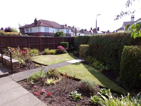 Back Garden of Darby Road, Grassendale, Liverpool, Merseyside L19