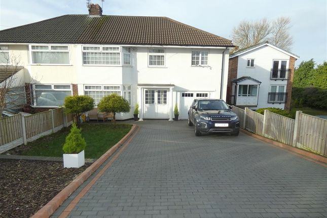 Thumbnail Semi-detached house for sale in Bridge Road, Huyton, Liverpool
