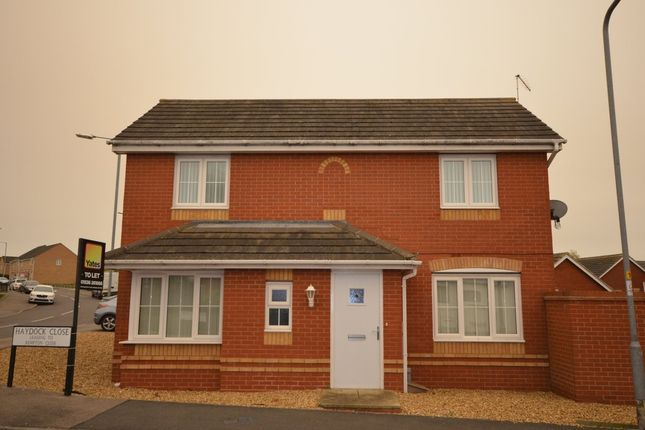 Thumbnail Detached house to rent in Haydock Close, Corby