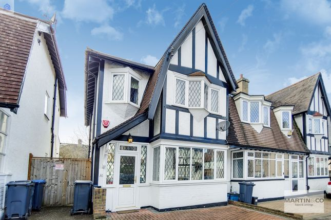 Thumbnail Semi-detached house for sale in Brickwood Road, East Croydon, Surrey