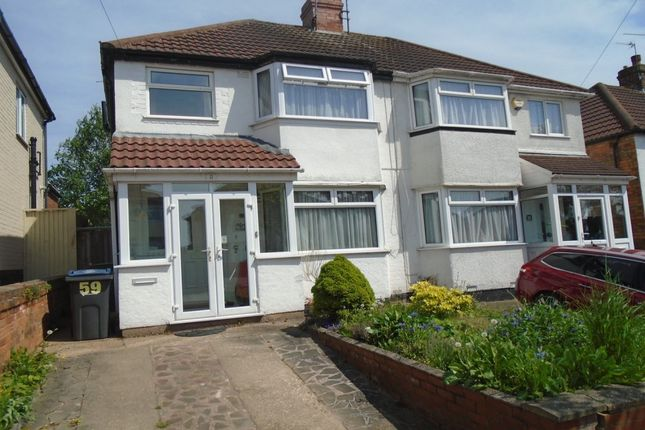 Thumbnail Semi-detached house for sale in Gleneagles Road, Birmingham
