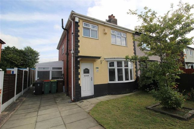 Thumbnail Semi-detached house for sale in Sulby Drive, Ribbleton, Preston