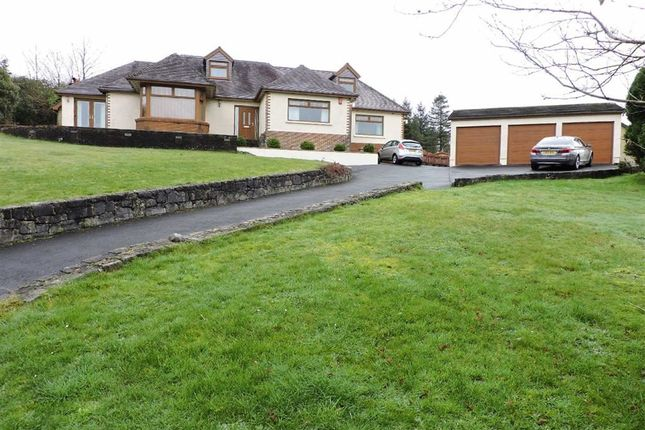 Thumbnail Detached bungalow for sale in Drefach, Llanelli