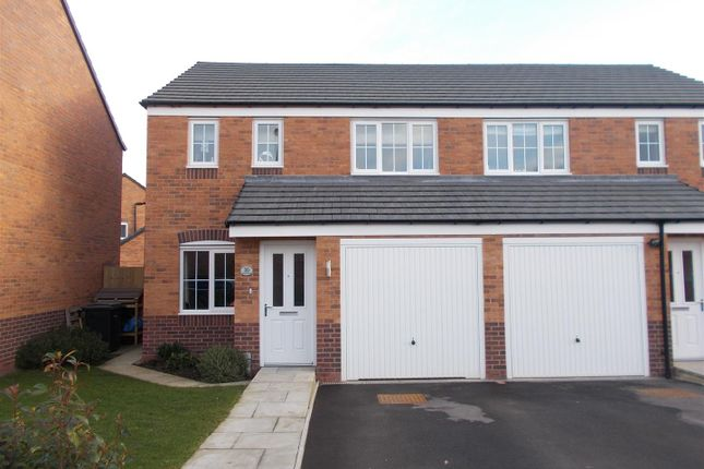 Thumbnail Semi-detached house for sale in Rondel Street, Archery Fields, Shrewsbury