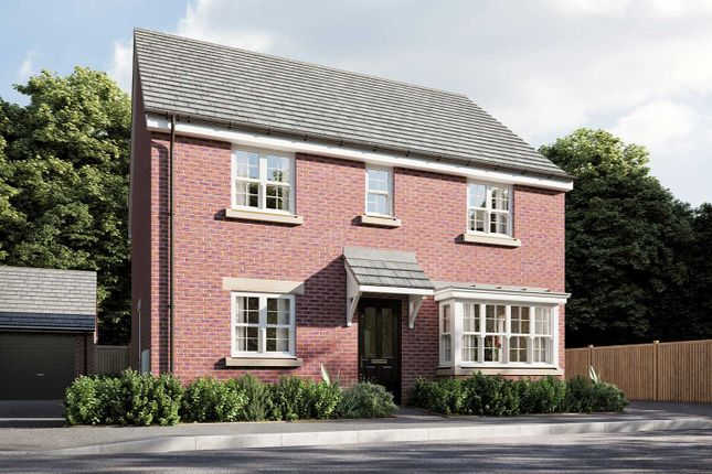 "Thumbnail Detached house for sale in ""The Pembroke "" at Smug Oak Lane, Bricket Wood, St.Albans"