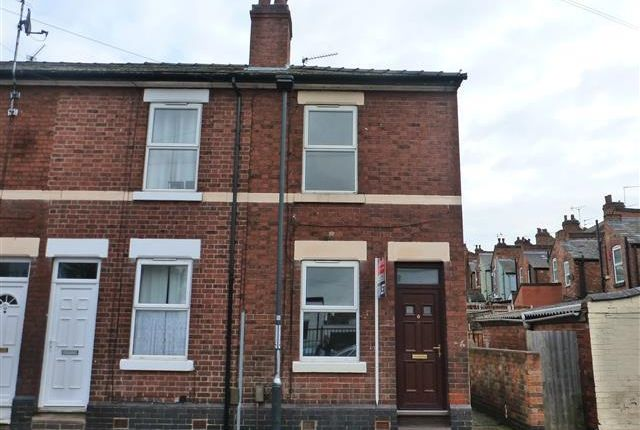 Thumbnail Terraced house to rent in Cornwall Road, Derby