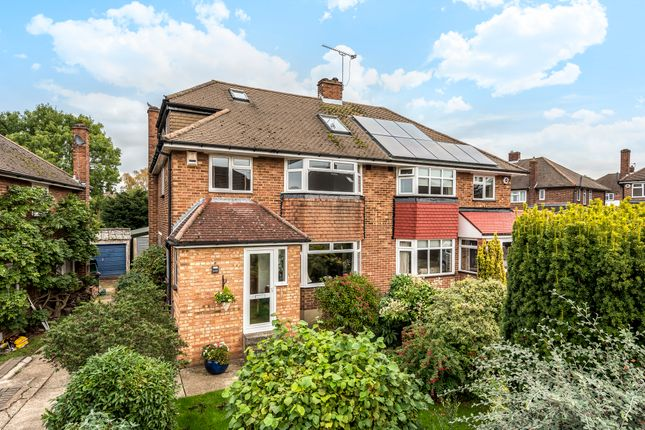 Thumbnail 4 bed semi-detached house for sale in Honeybourne Way, Petts Wood, Orpington