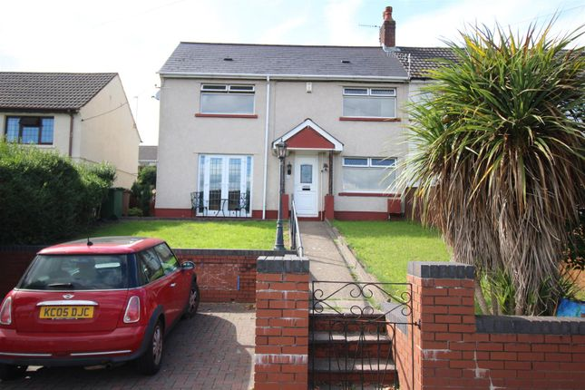 Thumbnail Semi-detached house for sale in Treowen Road, Newbridge, Newport