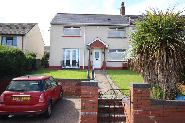 Thumbnail Semi-detached house for sale in Treowen Road, Newbridge, Newport