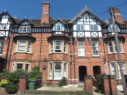 Thumbnail Flat to rent in Flat 4, 40 Heath Terrace, Leamington Spa